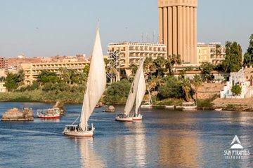 Felucca Fahrt auf dem Nil in Assuan