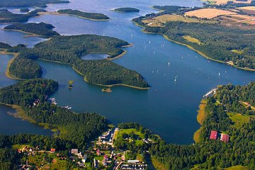 Masurian Lake District - Canoeing and a Sailing Yacht - 1 DAY TRIP FROM WARSAW