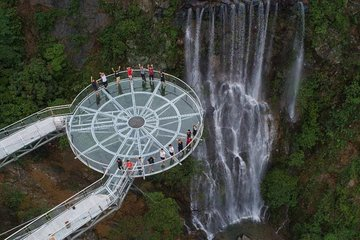 Private Day Tour To Gulong Canyon Glass Bridge From Guangzhou