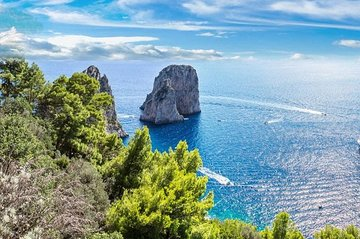Private Tour of Sorrento, Capri and Pompeii in one day!