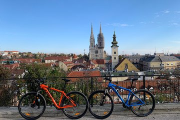 Experience Zagreb on a mountain bike with a local guide - Small group tour