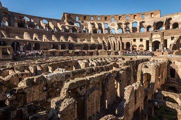 Colosseum Underground Tour with Roman Forum, Palatine Hill & Gladiator Arena