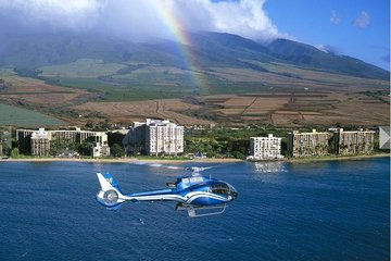 Small-Group Road to Hana Luxury Tour with Helicopter Flight return