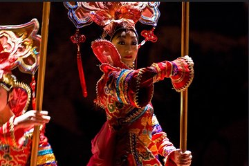 Private Beijing Night Tour: Acrobatic Show and Peking Duck Dinner
