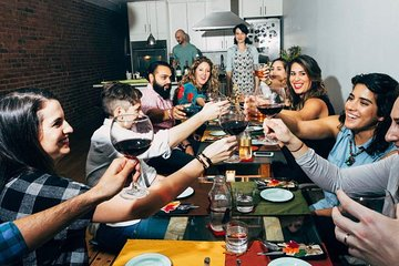 Featured in the New York Times: A Balkan Feast In a Charming NY Brownstone