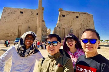 Save 10.00%! East and West bank Luxor day tour from Luxor hotels