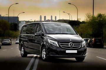 Private Arrival Transfer from Frankfurt International Airport by Luxury Van