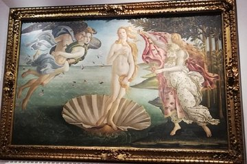 Florence: Morning Uffizi Gallery guided experience with entrance tickets