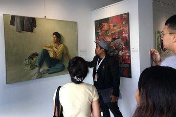 Explore art galleries in Kuala Lumpur