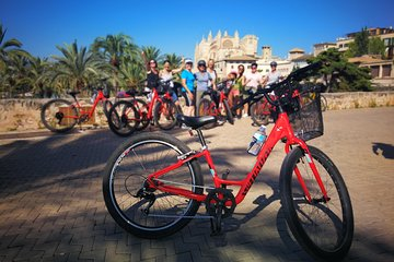 Palma de Mallorca Shore Excursion: Bike Tour with Cathedral and Parc de la Mar