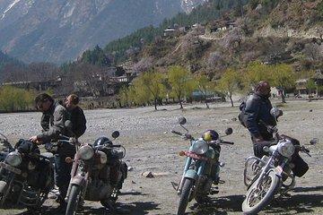 Mustang muktinath en moto