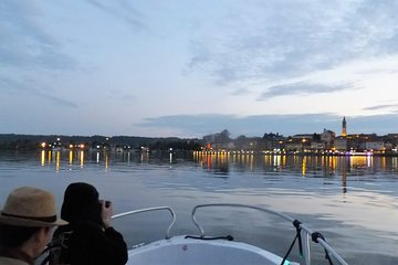 Sunset Cruise (max 2 p) in beautiful Lake Maggiore, Milan (Train included)