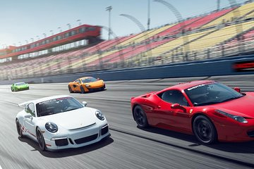 Two Hour Exotic Car Driving Experience Package in Las Vegas