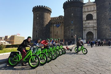 Guided tour of Naples by electric bike