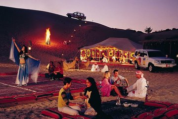 Overnight Desert Safari Dubai With BBQ Dinner With Morning Breakfast