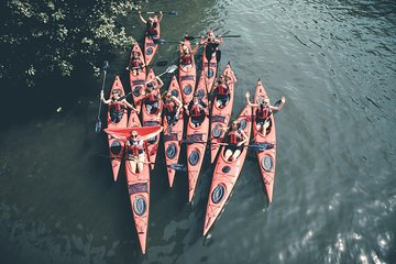 Guided Kayak Tour in Central Stockholm