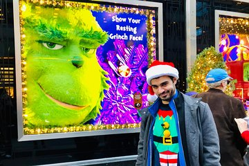 Private NYC Holiday Lights and Movie Sites Tour