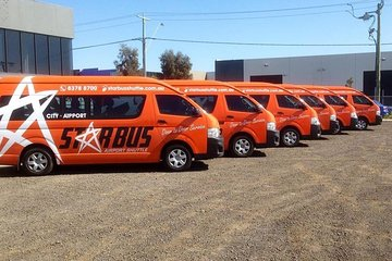 Melbourne Airport Shuttle: Airport to Melbourne CBD One-Way