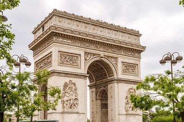Arc de Triomphe and Seine River Cruise