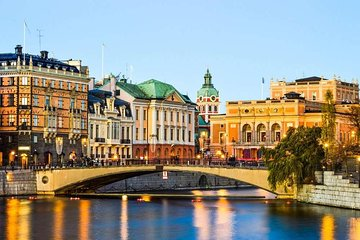 Stockholm by Yourself with English Chauffeur by business car or luxury van