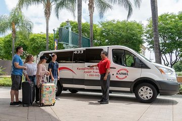 Shared LAX Airport Arrival Transfer to Long Beach, San Pedro Hotels or Cruise Terminals