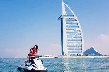 Jet Ski Tour Dubai: Burj Al Arab, Burj Khalifa, La Mer for 60 minutes
