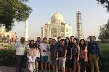 Taj Mahal & Agra Fort Visit by Gatimaan Express Train