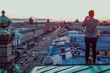 Rooftop Tour in St Petersburg with Best City Views for Photographers