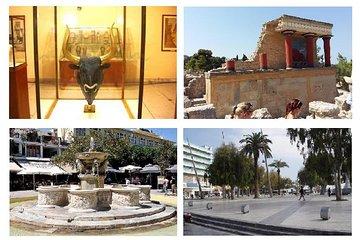 Heraklion, Museu, Knossos de Chania...