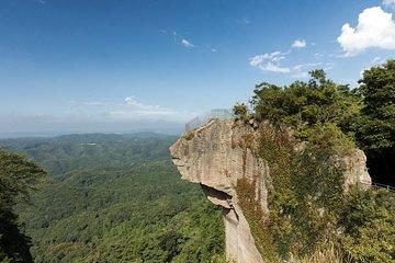 Visite du Mont Scie, lieu du plus grand bouddha assis du Japon et Aqua-Line