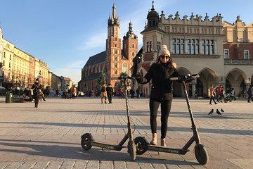 Electric Scooter Tours Kraków