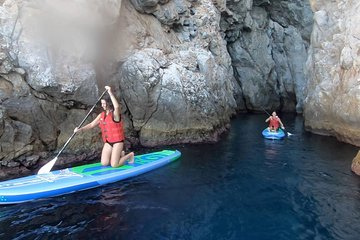 Santorini: Stand-Up Paddle and Snorkel Adventure