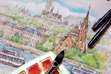 guided sketcher tours with a local professional artist