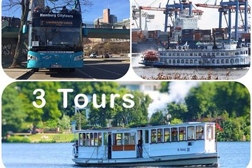 City Tour with Harbor and Alster Cruise