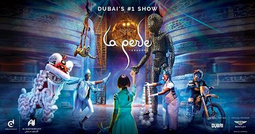 La Perle by Dragone Dubai With Transfers