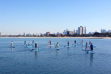Stand-Up Paddle Board Group Lesson at St Kilda