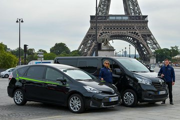 Semi Private Departure Transfer: Paris to ORLY Airport