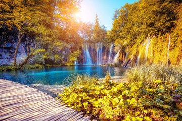 Plitvice Lakes National Park Group Guided Tour from Split or Trogir