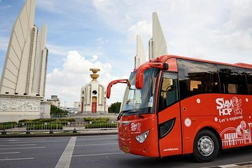Bangkok: Hop-On Hop-Off Bus 1,2 or 3 Day Pass by Siam Hop