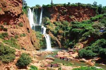 Excursão privada à cachoeira Ouzouad...