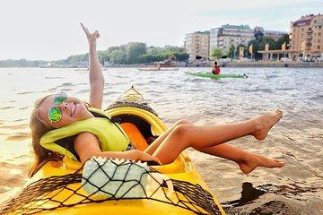 Self-Guided Kayak Adventure In Central Stockholm (One-man kayak)