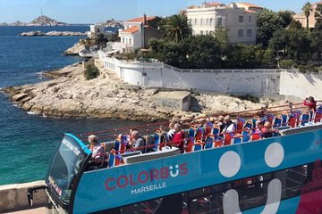 Colorbus Marseille Hop-On Hop-Off Bus Tour