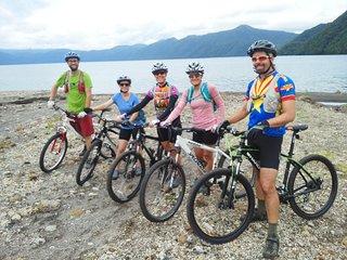 Lake Shikotsu Mountain Bike Tour from Sapporo