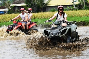 Bali Quad Bike Pass by Waterfall and Tunnel All-Inclusive