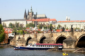 Panoramic Vltava River Cruise in Prague