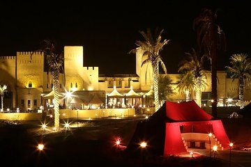 Sahara Arabian Desert Dinner Experience with Transport from Dubai