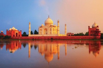 Taj Mahal at Sunrise and Agra Day Tour from Delhi