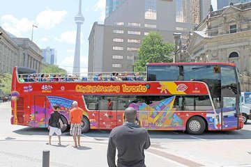 Toronto: 48-Hour Hop-On Hop-Off Sightseeing Bus Ticket