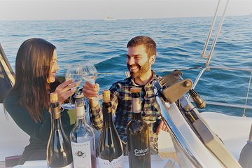 Tapas & Wine tasting on a private Sailboat with a Sommelier