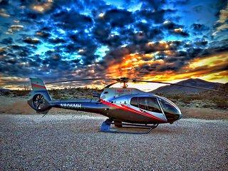 Helikoptertour bij zonsondergang in Grand Canyon vanuit Las Vegas